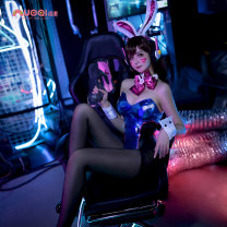 Cosplay women's wear suit Pre sale Over 14 years old The size of American version of DVA Bunny COS is too large. It is suggested to buy a smaller size L M S XL XXL XS Nochi  GC716A