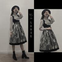 Dress customization Cyan (spot), rust red (spot), grey coffee (spot), fog black (spot) L,M,S,XL,XXL,XS