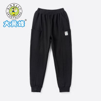 trousers Big wasp / Bumblebee male 110cm 120cm 130cm 140cm Deep flower ash spring and autumn trousers motion No model Sports pants Leather belt middle-waisted Don't open the crotch Class B Autumn 2020