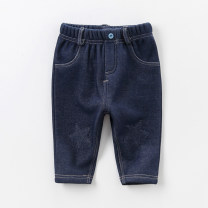 trousers DAVE&BELLA neutral spring and autumn trousers leisure time No model Casual pants Leather belt middle-waisted other Open crotch DB3959 Class A 12 months, 18 months, 2 years old, 3 years old, 4 years old, 5 years old, 6 years old, 7 years old