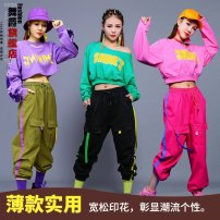 Casual pants Army Green Pants Black Pants rose red pants M L Autumn of 2019 trousers Overalls Natural waist street routine 81% (inclusive) - 90% (inclusive) Dance Baron cotton tassels cotton Cotton 85% others 15% Pure e-commerce (online only) Hip hop Asymmetry