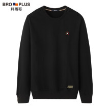 Sweater Youth fashion Fat brother 2XL 3XL 4XL 5XL 6XL 7XL Socket Geometric pattern routine Crew neck spring easy leisure time Large size tide routine