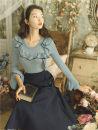Fashion suit Autumn 2020 S,M,L T-shirt + skirt