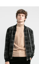 Jacket Other / other other Black, dark green 165/84,170/88,175/92,180/96,185/100,190/104,195/108 routine standard Other leisure autumn 18QJK0101A Polyester 100% Long sleeves Wear out stand collar routine Zipper placket 2019 Cloth hem Closing sleeve lattice
