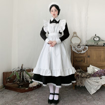 Cosplay women's wear skirt Pre sale Over 14 years old Animation, film, games Sylvia Japan Maid Costume, Lolita LT001 XXXL
