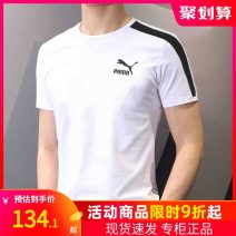 Sports T-shirt Puma / puma 170/92A/S 175/96A/M 180/100A/L 185/104A/XL 190/108A/XXL Short sleeve male one hundred and ninety-nine Crew neck 598251-02お_ yMPaO routine Moisture absorption, perspiration, ventilation and elasticity Summer 2020 Brand logo Sports & Leisure Sports life cotton yes