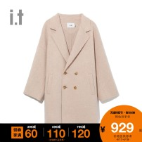 woolen coat Autumn of 2019 XS S M BGL / Brown ppl / Lavender wool 81% (inclusive) - 90% (inclusive) BCXJK9F0174SD b+ab Wool 86.8% polyamide 10.1% polyester 3.1% Same model in shopping mall (sold online and offline)