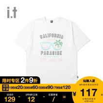 T-shirt Youth fashion routine S M L XL XS UNDER GARDEN Short sleeve other standard Other leisure Cotton 100% Summer 2020 Same model in shopping mall (sold online and offline)