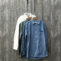 shirt other Others LL M L White dark blue dark grey routine Long sleeves other easy Other leisure autumn