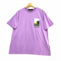 T-shirt Purple, yellow, khaki M, L Summer 2020 Short sleeve Crew neck Regular other 51% (inclusive) - 70% (inclusive) PINK   JULIE F@F-2-3