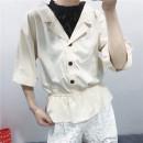 shirt Khaki, army green, off white M, L Autumn 2020 other 51% (inclusive) - 70% (inclusive) Versatile Regular Cangwu-2-1