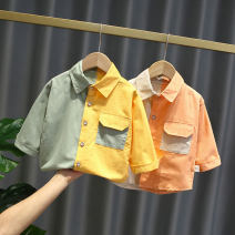 shirt Orange, yellow, dark gray, orange, blue, light yellow, light blue, light gray, green, bright yellow, pink, light green, peacock blue, deciduous yellow, light orange, red yellow, pearl yellow, medium pink, general yellow, feather white Other / other male 80cm,90cm,100cm,110cm,120cm Long sleeves