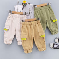 trousers Other / other male 80cm,90cm,100cm,110cm,120cm White, off white, army green spring and autumn trousers leisure time No model Casual pants Leather belt middle-waisted cotton Open crotch Cotton 95% other 5% YF 211111 overalls Class A Chinese Mainland