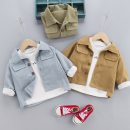 Plain coat Other / other neutral 80cm,90cm,100cm,110cm,120cm khaki , wathet , Army green , black , blue spring and autumn leisure time Single breasted No model routine nothing Solid color cotton Crew neck yf006 Cotton 95% other 5% Class A