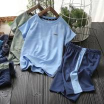 suit Other / other 110, 120, 130, 140, 150, 160 male summer leisure time Short sleeve + pants 2 pieces Thin money No model Socket nothing camouflage blending children Learning reward Class B 14, 3, 5, 9, 12, 7, 8, 6, 2, 13, 11, 4, 10 Chinese Mainland Shandong Province Qingdao