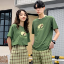 T-shirt Fashion City Green short sleeve (Unisex) green skirt (female) green shorts (male) routine Female s female m female l female XL male m male l male XL male 2XL male 3XL hammerman  Short sleeve Crew neck standard daily summer HM1186 Cotton 100% Couples dress routine Exquisite Korean style cotton