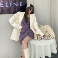 Fashion suit Spring 2021 S. M, l, average size Wool suspender skirt, white suit 18-25 years old Other / other 51% (inclusive) - 70% (inclusive) polyester fiber
