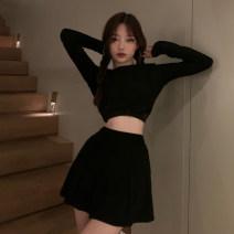 Fashion suit Spring 2021 Average size Black, girl pink 18-25 years old