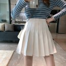 skirt Summer 2021 S [recommended 80-90 kg], m [recommended 90-100 kg], l [recommended 100-115 kg], XL [recommended 115-130 kg], 2XL [recommended 130-150 kg], 3XL [recommended 150-170 kg], 4XL [recommended 170-195 kg] White, black, gray, blue Short skirt commute High waist A-line skirt Solid color