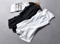 Casual pants Black [20-4-03c], white [20-4-03c] 0,2,4,6 Summer 2020 shorts Jumpsuit High waist street routine 96% and above Other / other polyester fiber Europe and America