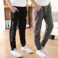 trousers Other / other male 130cm,140cm,150cm,160cm,170cm spring and autumn trousers leisure time There are models in the real shooting Sports pants Leather belt middle-waisted cotton Don't open the crotch Cotton 98% polyester 2% Class B 7, 8, 9, 10, 11, 12, 13, 14 Chinese Mainland Zhejiang Province