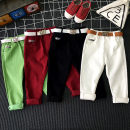 trousers Other / other neutral spring and autumn trousers leisure time No model Casual pants Leather belt middle-waisted Don't open the crotch Other 100% A20006 2, 3, 4, 5, 6, 7, 8, 9, 10 years old