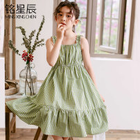 Dress A495 # green, 6788 green, 677 white, 6791 blue, 6792 yellow female Other / other 120cm,130cm,140cm,150cm,160cm Other 100% summer Korean version Skirt / vest other other Pleats M655 Class B Four, five, six, seven, eight, nine, ten, eleven, twelve, thirteen, fourteen Chinese Mainland Foshan City