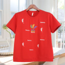 Middle aged and old women's wear T-shirt routine Short sleeve 161g / m ^ 2 (including) - 180g / m ^ 2 (including) Summer 2021 leisure time easy letter singleton  50-59 years old cotton Condom 96% and above Crew neck moderate 9018 Fumina Embroidery routine