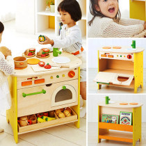 House toys Three years old, four years old, five years old and six years old Yoobi wood Simulation kitchen nothing Nine hundred and ninety-nine