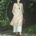 jacket Summer of 2019 On Jiangnan hemp 91% (inclusive) - 95% (inclusive)
