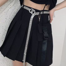 Belt / belt / chain other Gold, silver female belt grace Single loop youth a hook Round buckle alloy set Uncle cimao