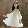 Dress female Other / other 110cm,120cm,130cm,140cm,150cm,160cm Other 100% spring and autumn princess Long sleeves other cotton A-line skirt Class B Three, four, five, six, seven, eight, nine, ten, eleven, twelve Chinese Mainland Guangdong Province