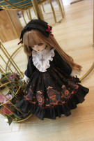 BJD doll zone Dress 1/4 Over 3 years old goods in stock Four big baby MSD, six big six, little cloth, star Delu s, salon, 20cm cotton doll, 40cm cotton doll, 15cm cotton doll