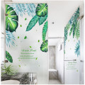 Ceramic tile / glass paste 1 tablet large Zhang Plants and flowers Muzixuan mural B0030 Simple and modern