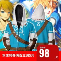 Cosplay men's wear jacket goods in stock Man craftsman Over 14 years old Sky blue, dark gray, dark blue, green, blue, black original L,M,S,XL,XXL,XXXL Chinese Mainland Sword dance, and the wind