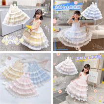 Dress Yellow, blue, pink female Other / other 90cm,100cm,110cm,120cm,130cm,140cm,150cm Other 100% summer lady Skirt / vest Solid color Cotton blended fabric Cake skirt S Class B 7, 8, 14, 3, 6, 2, 13, 11, 5, 4, 10, 9, 12 Chinese Mainland Guangdong Province Shantou City