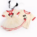 Dress summer other cotton Cake skirt Cartoon animation female Other / other Cotton 100% 2 years old, 3 years old, 4 years old, 5 years old, 6 years old, 7 years old, 8 years old 33 Short sleeve TMQ, Dress Mini 100cm,110cm,120cm,130cm,140cm