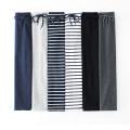 skirt Winter 2017 Middle-skirt Versatile Natural waist skirt stripe Type H More than 95% knitting cotton Pocket, lace up