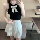 Fashion suit Summer 2021 S. M, l, average size Black T-shirt, white T-shirt, black skirt, white skirt 18-25 years old
