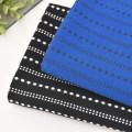 Fabric / fabric / handmade DIY fabric cotton Loose shear piece Geometric pattern jacquard weave clothing Japan and South Korea Cappuccino life Museum 100% Chinese Mainland