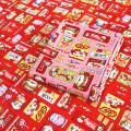 Fabric / fabric / handmade DIY fabric cotton Pure cotton * No.2 candy girl / red, pure cotton * No.2 candy girl / Pink Loose shear piece Cartoon animation printing and dyeing Other hand-made DIY fabrics Chinese style Cappuccino life Museum 100% Jiangsu Province Changzhou City Chinese Mainland