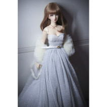 BJD doll zone suit 1/3 Over 14 years old Customized Dress + skirt support + Cape + belt Six, four, three, big girl