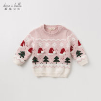 Sweater / sweater 66/12M 73/18M 80/24M 90/3Y 100/4Y 110/5Y 120/6Y 130/7Y other female DAVE&BELLA Europe and America There are models in the real shooting Socket routine Crew neck nothing Fine wool Cartoon animation Other 100.00% Class A Long sleeves Autumn 2020 spring and autumn