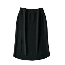 skirt Autumn 2020 S,M,L black Mid length dress commute High waist skirt Solid color 25-29 years old