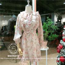 Dress Spring 2021 Blue, pink Average size