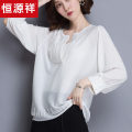 T-shirt White, black, dark blue, dark apricot, light apricot Average size Summer of 2019 Nine point sleeve Crew neck easy have cash less than that is registered in the accounts routine commute Viscose 86% (inclusive) -95% (inclusive) Korean version classic Solid color hyz  HYXQS5T1831