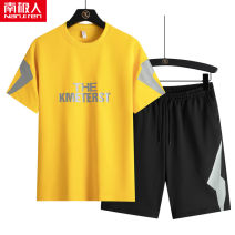 Leisure sports suit summer M (for 90-105 kg), l (for 105-120 kg), XL (for 120-135 kg), 2XL (for 135-150 kg), 3XL (for 150-165 kg), 4XL (for 165-180 kg) Black tz894, white tz894, blue tz894, yellow tz894, black tz891, white tz891, blue tz891, yellow tz891 Short sleeve NGGGN Pant youth T-shirt TZ894