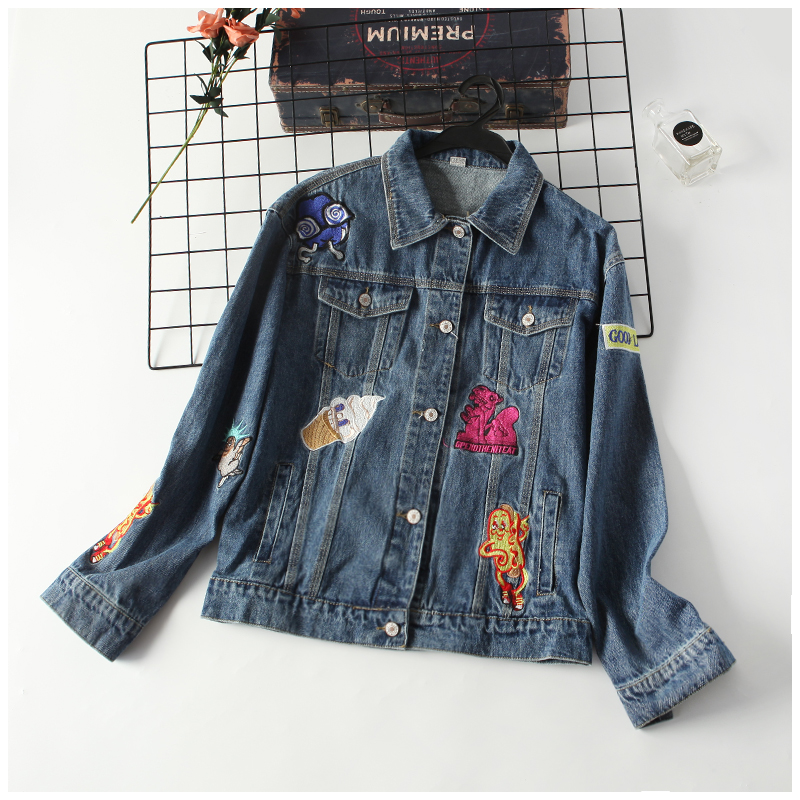 short coat Autumn of 2018 M L Light blue Long sleeves routine routine singleton  Self cultivation commute routine other Single breasted 18-24 years old 31% (inclusive) - 50% (inclusive) T0906307 other