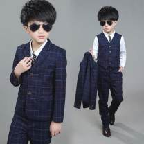 Suit / Blazer navy blue 110cm,120cm,130cm,140cm,150cm,160cm Other / other 2, 3, 4, 5, 6, 7, 8, 9, 10, 11, 12 years old