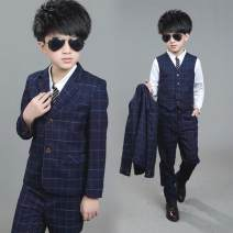 Suit / Blazer navy blue 110cm,120cm,130cm,140cm,150cm,160cm Other / other 2, 3, 4, 5, 6, 7, 8, 9, 10, 11, 12 years old